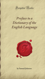 Preface to a Dictionary of the English Language_cover