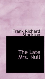 The Late Mrs. Null_cover