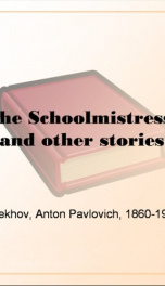 The Schoolmistress, and other stories_cover