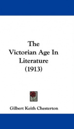 The Victorian Age in Literature_cover