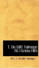 T. De Witt Talmage_cover