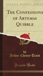 The Confessions of Artemas Quibble_cover