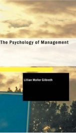 The Psychology of Management_cover