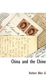 China and the Chinese_cover