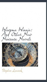 Winsome Winnie and other New Nonsense Novels_cover