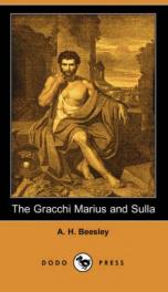 The Gracchi Marius and Sulla_cover