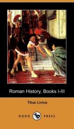 Roman History, Books I-III_cover