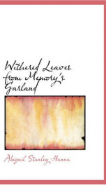 Withered Leaves from Memory's Garland_cover