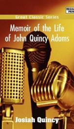 Memoir of the Life of John Quincy Adams._cover