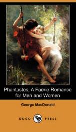 Phantastes, a Faerie Romance for Men and Women_cover