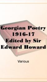 Georgian Poetry 1916-17_cover