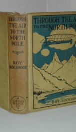 Through the Air to the North Pole_cover