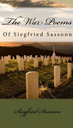 The War Poems of Siegfried Sassoon_cover