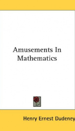 Amusements in Mathematics_cover