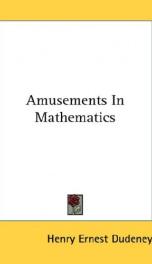 Amusements in Mathematics_cover
