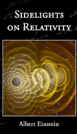 Sidelights on Relativity_cover