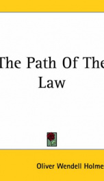 The Path of the Law_cover