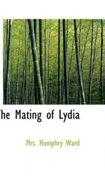 The Mating of Lydia_cover