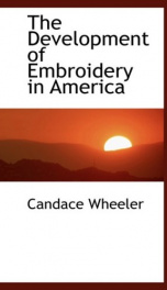 The Development of Embroidery in America_cover