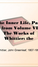 The Inner Life, Part 3, from Volume VII,_cover