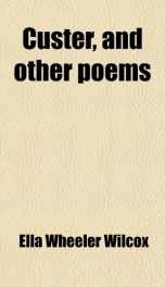 Custer, and Other Poems._cover