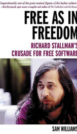 Free as in Freedom: Richard Stallman's Crusade for Free Software_cover