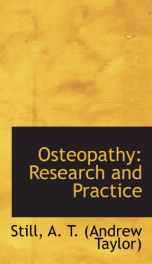 osteopathy research and practice_cover