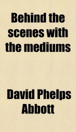 behind the scenes with the mediums_cover