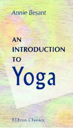 an introduction to yoga four lectures delivered at the 32nd anniversary of the_cover