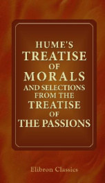 humes treatise of morals and selections from the treatise of the passions_cover