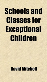 schools and classes for exceptional children_cover
