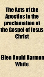 the acts of the apostles in the proclamation of the gospel of jesus christ_cover