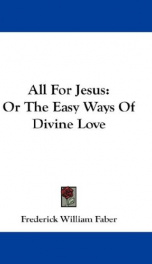all for jesus or the easy ways of divine love_cover