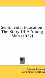 sentimental education the story of a young man_cover