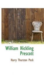 william hickling prescott_cover