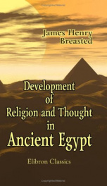 development of religion and thought in ancient egypt_cover