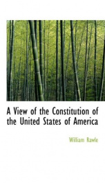 a view of the constitution of the united states of america_cover