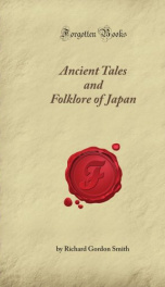 ancient tales and folklore of japan_cover