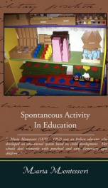 Spontaneous Activity in Education_cover