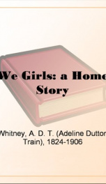 We Girls: a Home Story_cover