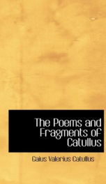 The Poems and Fragments of Catullus_cover