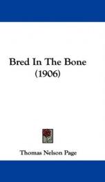Bred In The Bone_cover