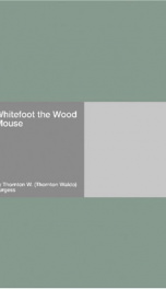Whitefoot the Wood Mouse_cover