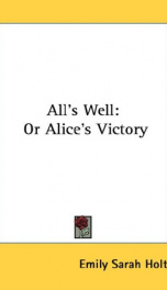 All's Well_cover