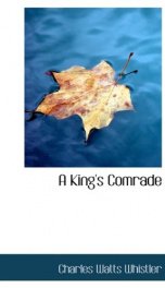 A King's Comrade_cover