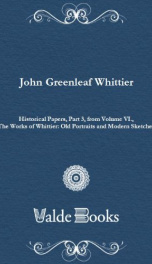 Historical Papers, Part 3, from Volume VI.,_cover