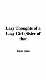 Lazy Thoughts of a Lazy Girl_cover