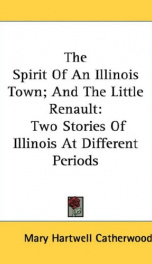 the spirit of an illinois town and the little renault two stories of illinois_cover