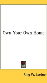 own your own home_cover