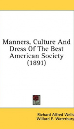 manners culture and dress of the best american society_cover